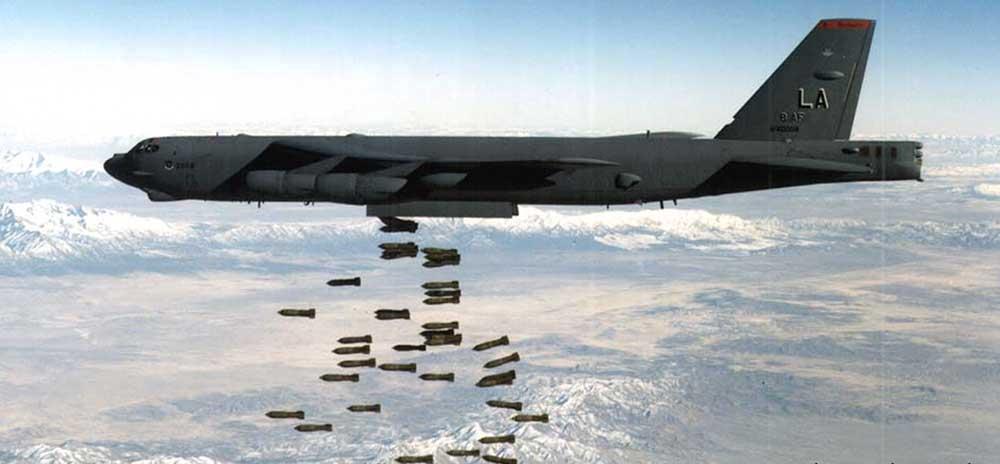 بمب افکن ب-52 در جنگ ویتنام